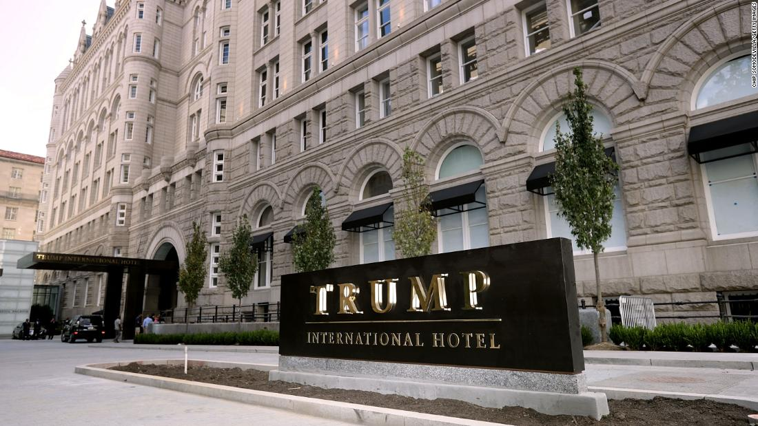 This charge demonstrate how taxpayer money can flow into President Trump's businesses