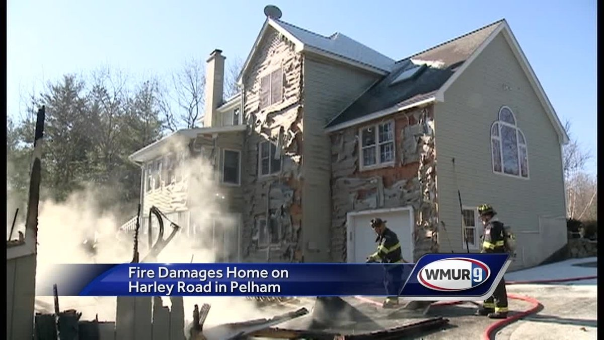 House saved from fire in Pelham