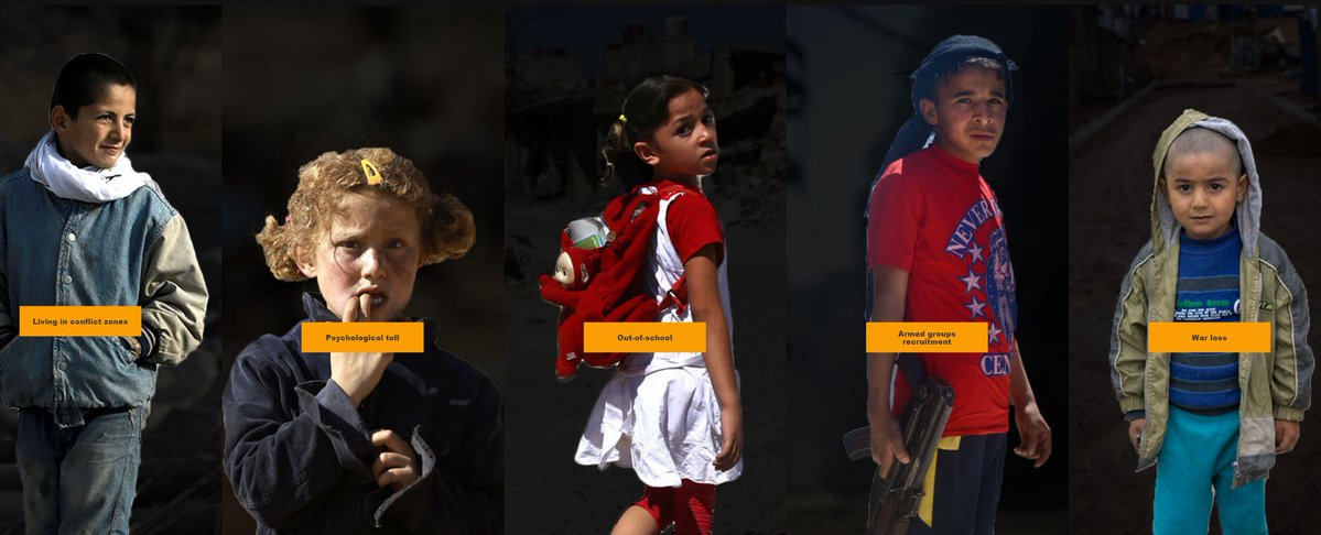 Syria's war children