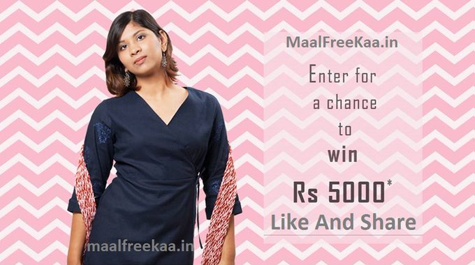 Valentines Giveaway Win Free Rs 5000