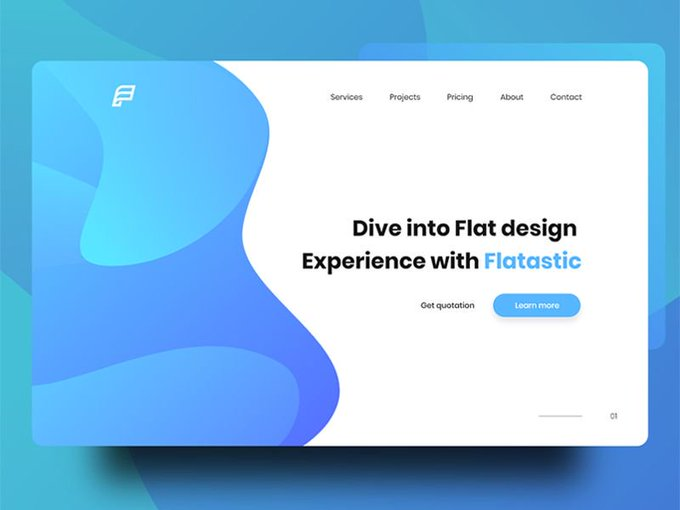 Landing Page Header  by Shojolislam freebie