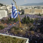 Greeks rally in Athens over Macedonia name row