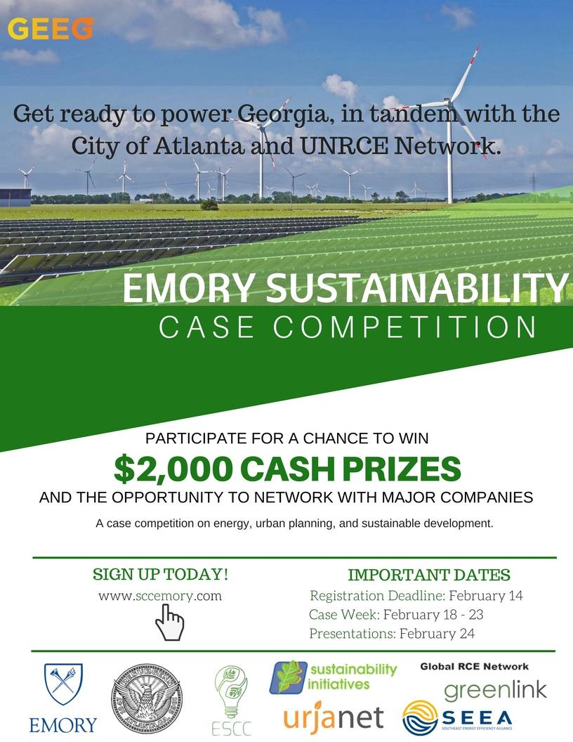 test Twitter Media - Interested in urban planning, sustainable development or energy? Solve a problem for the City of Atlanta and UNRCE network at the Emory Sustainability Case Competition hosted by Goizueta Energy and Environment Group with help from @EmoryGreen! More info: https://t.co/K0z2BOFGg2 https://t.co/9kCnlqUfaS