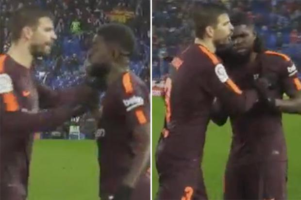 RT @TheSunFootball: Barcelona star Samuel Umtiti 'racially abused by Espanyol player' https://t.co/2GLiOL0mJ0 https://t.co/WnYKyFrDk9