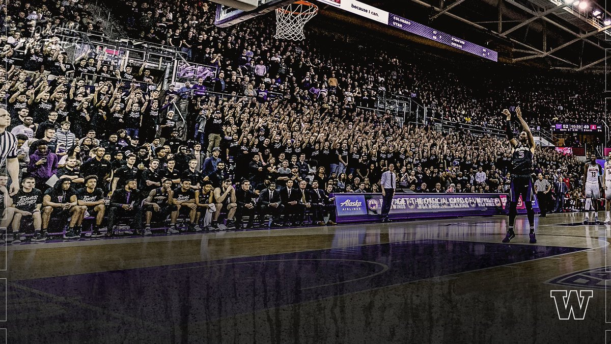 RT @UW_MBB: That's what its all about. THANK YOU, Dawg fans.  A message from @Coach_Hopkins. #TougherTogether https://t.co/klSmaLRJo3