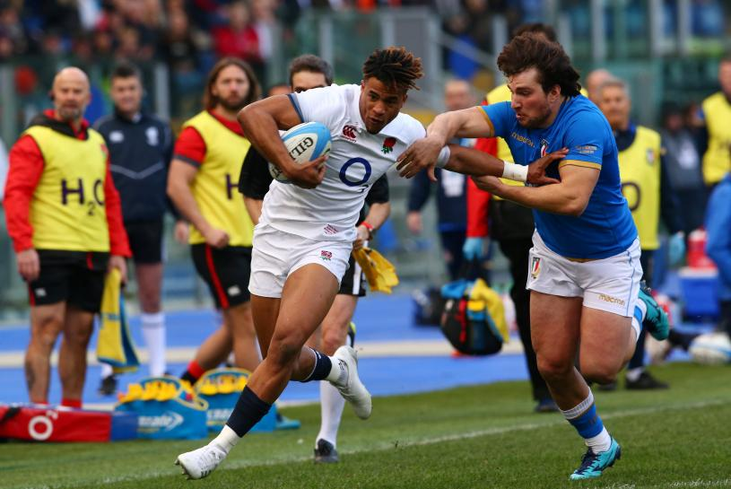 Rugby - England rack up seven tries in emphatic win over Italy