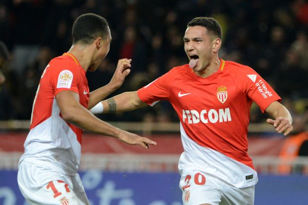 Race for second in Ligue 1 hots up as 10-man Monaco sink Lyon