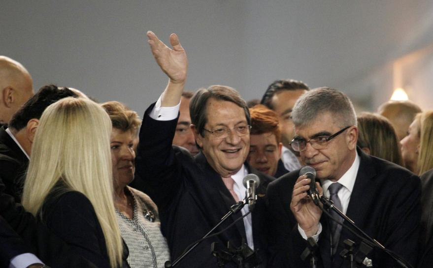Cyprus president Anastasiades wins run-off to land second term