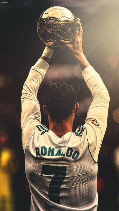 Happy 33rd Birthday to Cristiano Ronaldo.