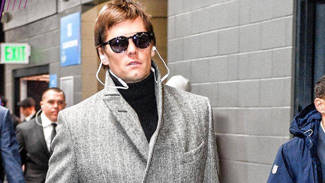 Tom Brady wore an interesting fit to Super Bowl LII, and social media erupted