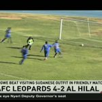 AFC Leopards beat visiting Al Hilal 4-2 in friendly match