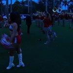 Trump Hosts Super Bowl Party in Florida