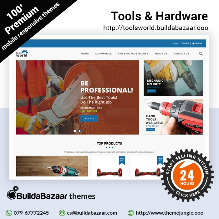 test Twitter Media - Create a stunning and easy to navigate online store with Tools & Hardware theme at #themejungle #infibeam #buildabazaar #buildabazaarthemes #ecomercethemes #websitethemes https://t.co/Mk602uQPE2 https://t.co/Ixq4KoQBpp