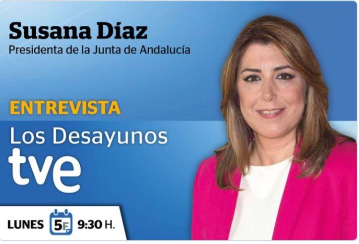#LDSusanaDíaz Ha empezado la entrevista @susanadiaz  adelante presidenta https://t.co/rDOJ0SyWmD