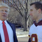 Kirk Cousins stars in local Super Bowl ad with Donald Trump impersonator