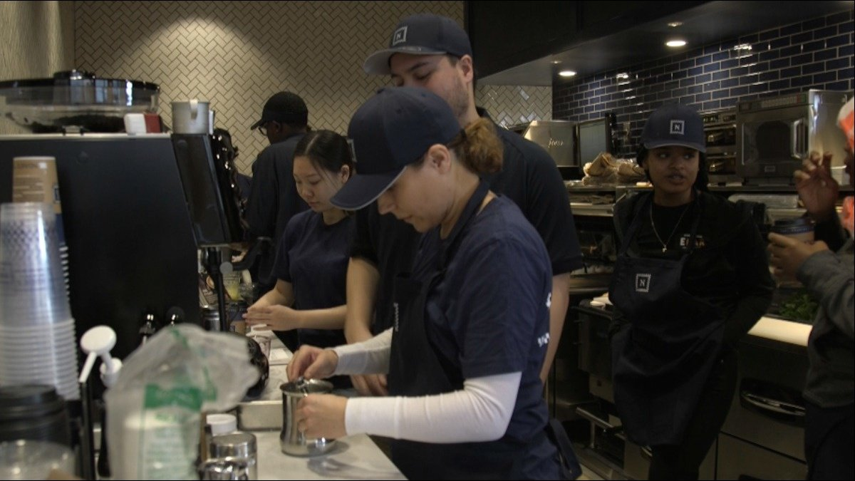 WATCH: A bagel chain in California tells the tale of rising wages via @ReutersTV