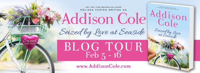 Seized by Love at Seaside by Addison Cole