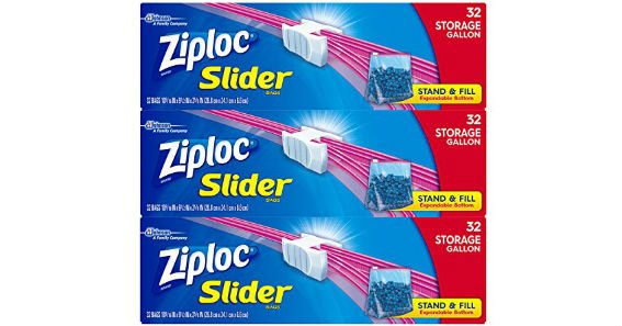 Ziploc Slider Storage Bags Giveaway