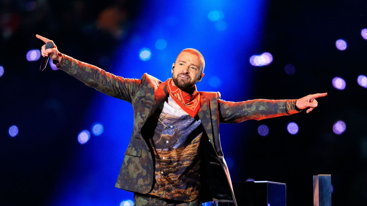 Justin Timberlake Threw It Back To 2003 In His Post-Super Bowl Performance
