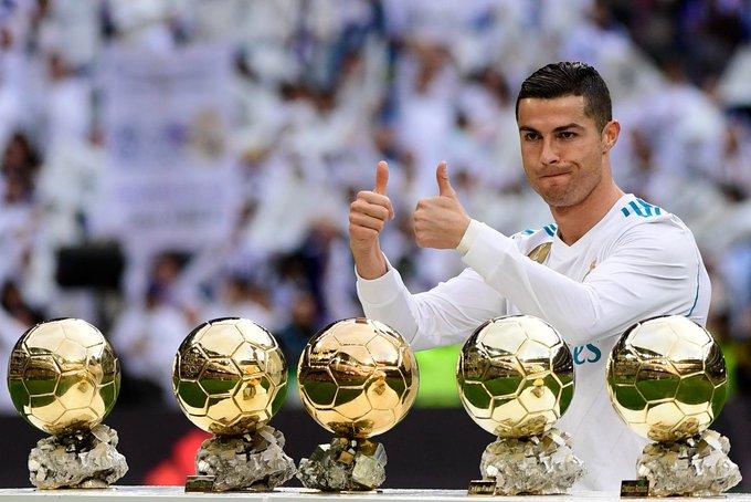 817 games  610 goals  28 trophies 5 Ballon D\ors Happy Birthday, Cristiano Ronaldo