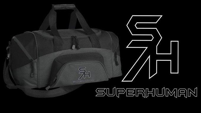 Superhuman gym bag