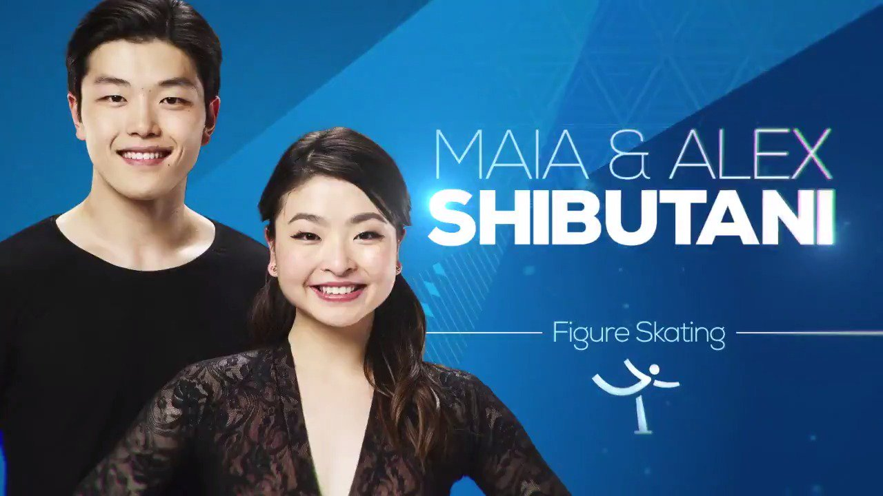 The Shib Sibs, @MaiaShibutani & @AlexShibutani, go for a medal NOW on @nbc!  Stream here: https://t.co/20NZjArUPP https://t.co/6gXzBZIlkC
