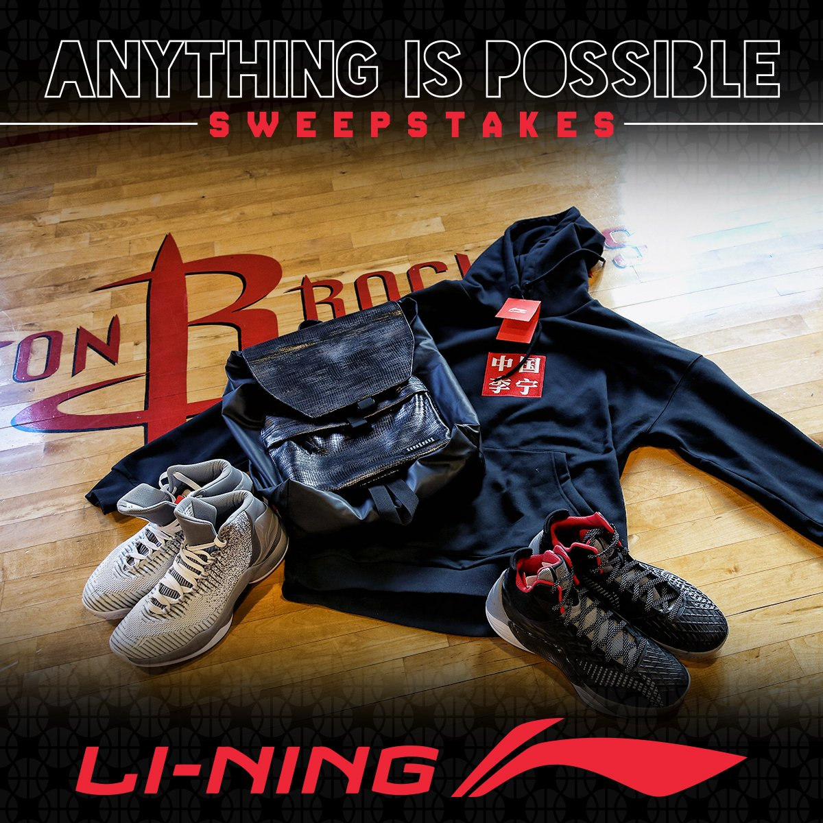 Enter to win a prize pack courtesy of @LiNing_Official!  https://t.co/DLUQNq2eBN https://t.co/ZfEFkBSsyH