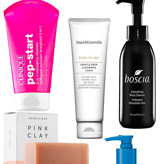 These are the face cleansers that get rid of dirt, oil and makeup in a flash...