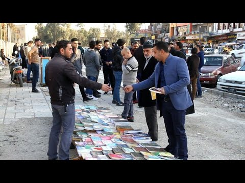 Book culture returns to Iraq's post-jihadist Mosul