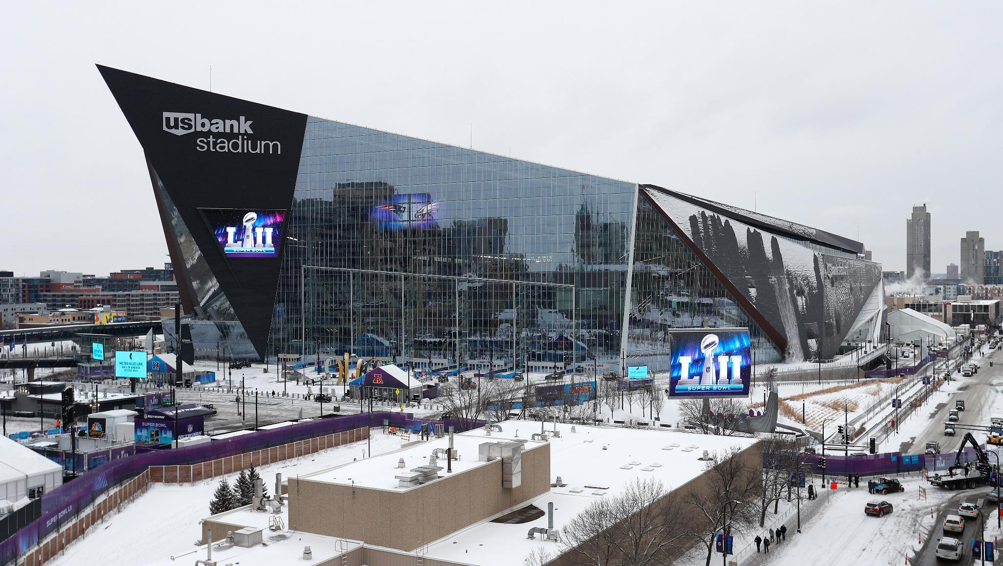 .@nflcommish called @usbankstadium 'an absolutely perfect stage' for the Super Bowl.   ��: https://t.co/UJiq6ayFwh https://t.co/GC0ip46f7W