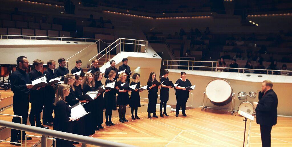 test Twitter Media - Wir haben den Kammermusiksaal gerockt! Danke an meinen Kammerchor Vocantare Berlin! https://t.co/h04Bw7NwNU