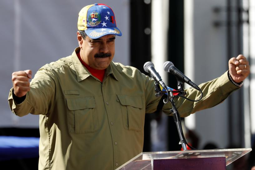 Maduro says U.S. sanctions will not stymie Venezuela oil industry
