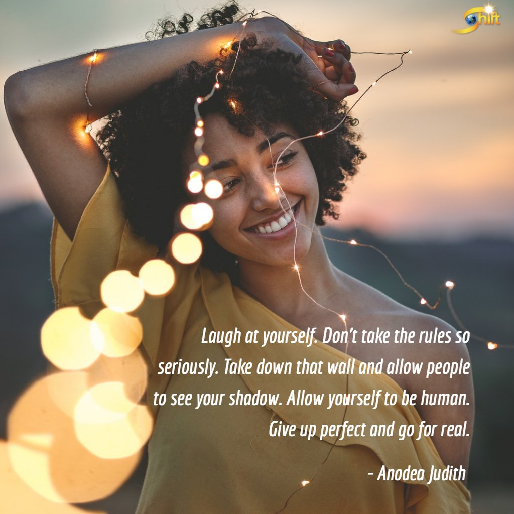 Allow yourself to be human. #QOTD #inspiration #MondayMotivation Quote via @AnodeaJudith https://t.co/F91XVloWf9
