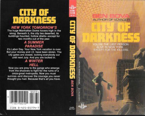 City of Darkness, by Ben Bova https://t.co/RIhkiSYS8R https://t.co/jE1469ZBg9