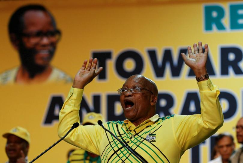 South Africa's Zuma summons ministers to urgent cabinet meeting: eNCA