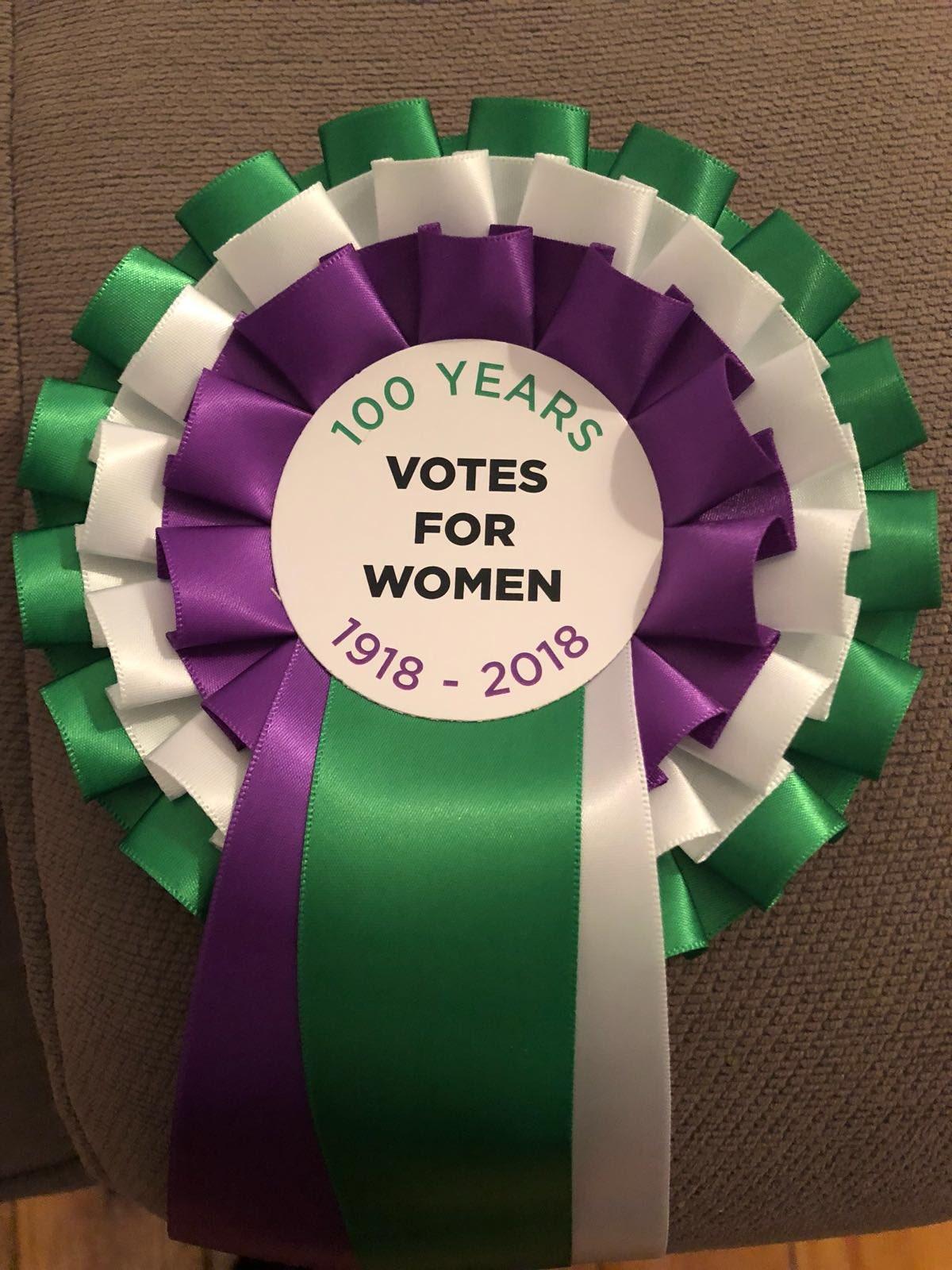#Vote100 #suffrage https://t.co/GuyUUYn300