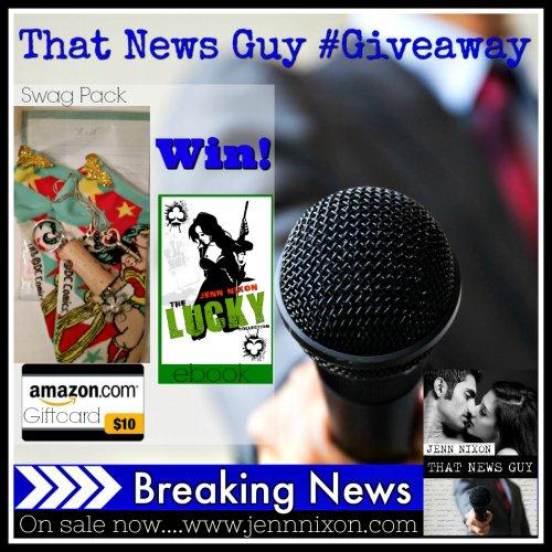 #ThatNewsGuy #Giveaway!
