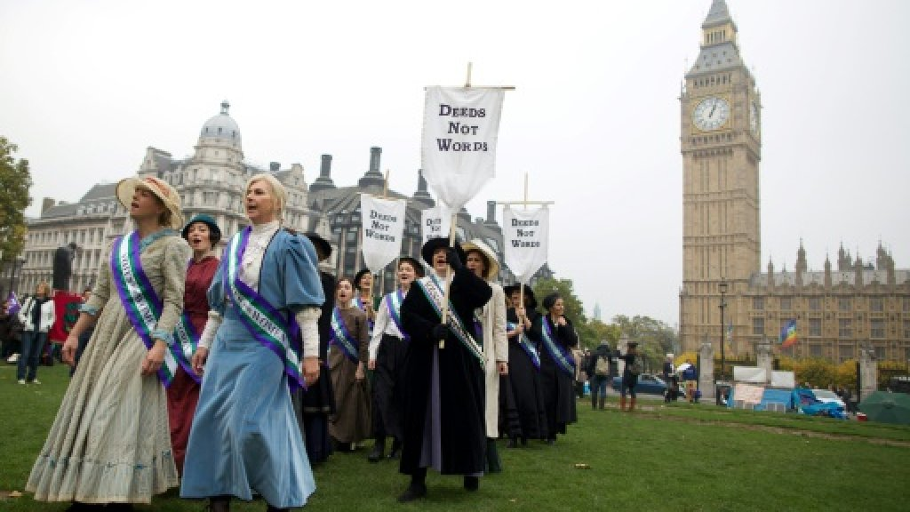 100 years of women's suffrage: How one group changed British history
