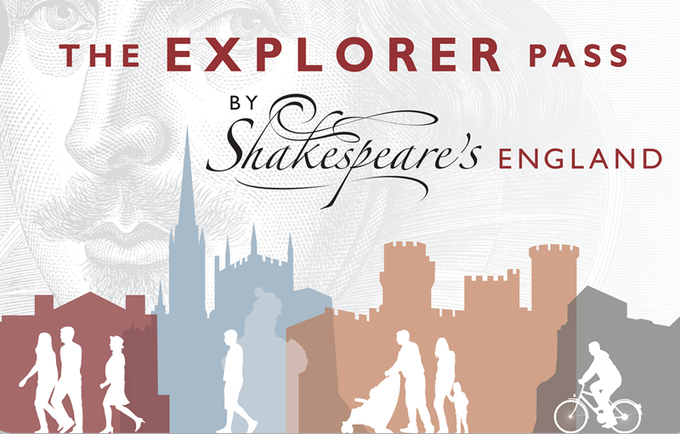 Win Two Adult 2-Day Explorer Passes from Shakespeare's England
