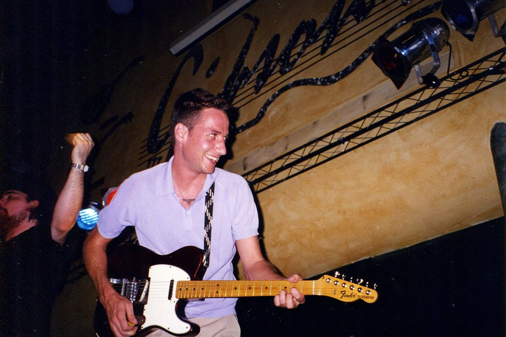 .@SGossard performing with @BradCorporation in 1997. #FlashbackFriday https://t.co/8iWB9Hrxe9