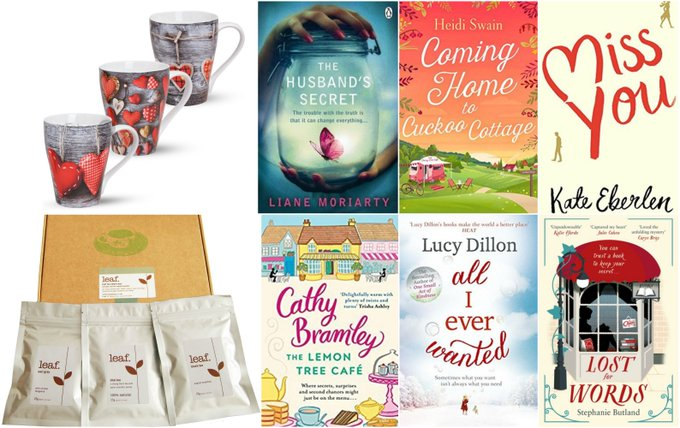 Six Wonderful Books, Tea & Three Mugs Giveaway