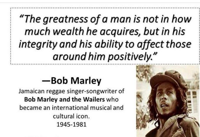 Happy Birthday Bob Marley...