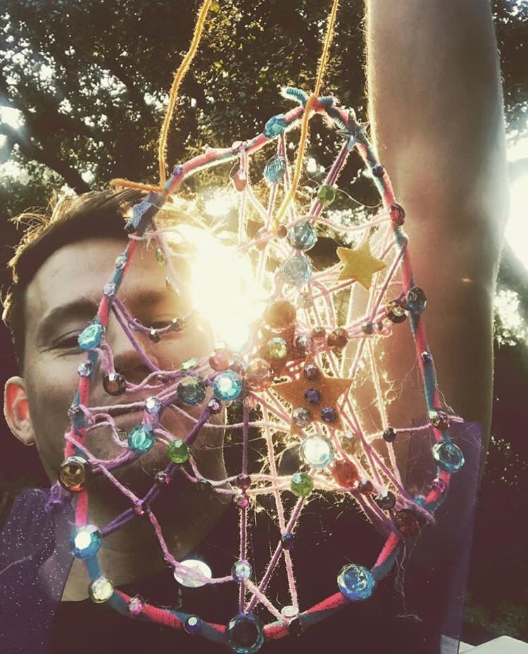 Aaaa... this dream catcher is straight up what actual dreams are made of. #madebyatinyfairy https://t.co/lhofUh18dJ