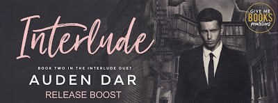**RELEASE BOOST With Giveaway**  Interlude by Auden Dar