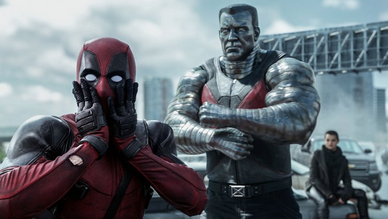 Ryan Reynolds shares flashy new Deadpool2 poster