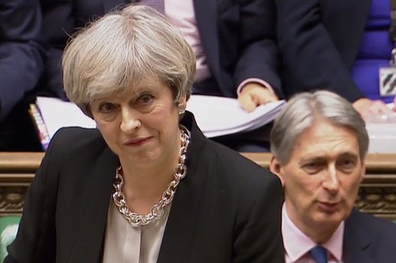 Theresa May forced to make humiliating 'clarification' after using misleading NHS figures  https://t.co/osEkxNf9BA https://t.co/BbDzw6z0SL