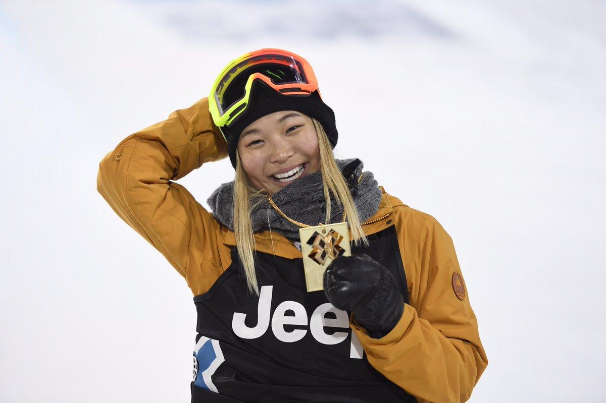@chloekimsnow goes from @XGames gold to #WinterOlympics - https://t.co/h40bzBNKdn #KidFearless https://t.co/nSLAyE7vtd