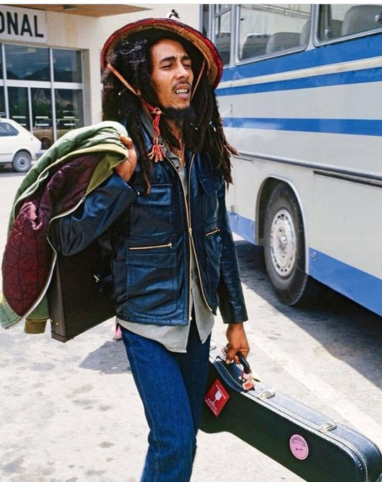 Happy Birthday to Bob Marley international music icon