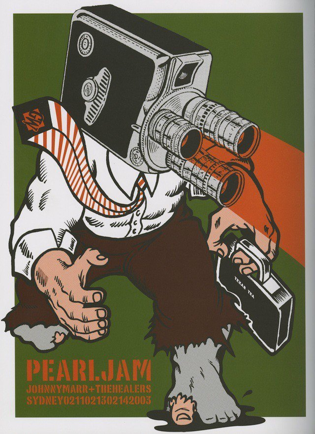 #OnThisDay in 2003, #PearlJam rocked the Sydney Entertainment Centre in Haymarket, Australia. https://t.co/ssw94HutUp