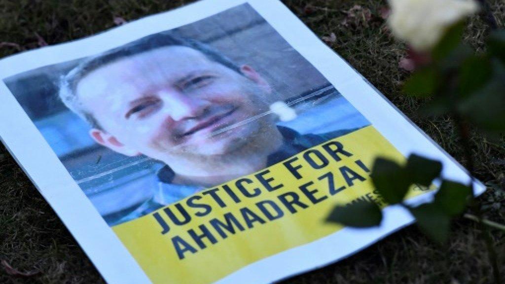 Iran rejects review of academic's death sentence https://t.co/sffYLuWYyR https://t.co/pE2ZpfiSU5